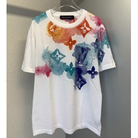 Replica LV Watercolour Monogram T shirt