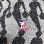 Replica LV x NBA Nil sweater