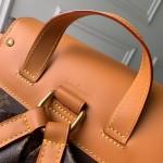 Replica LV Monogram canvas Backpack Trio Bag