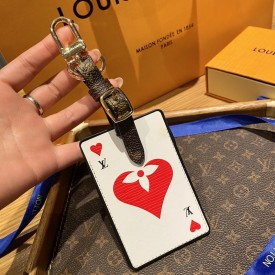 Replica LV Game on LV Card Luggage Tag