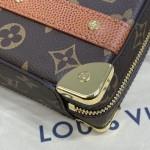 Replica LVxNBA LV Monogram Handle Trunk Bag