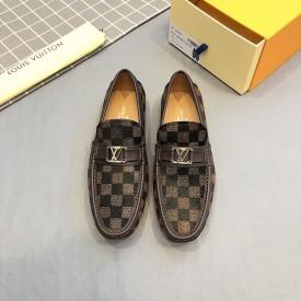 Replica LV Hockenheim Moccasin Loafers