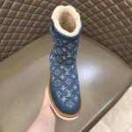 Replica LV Denim Cosy Boot