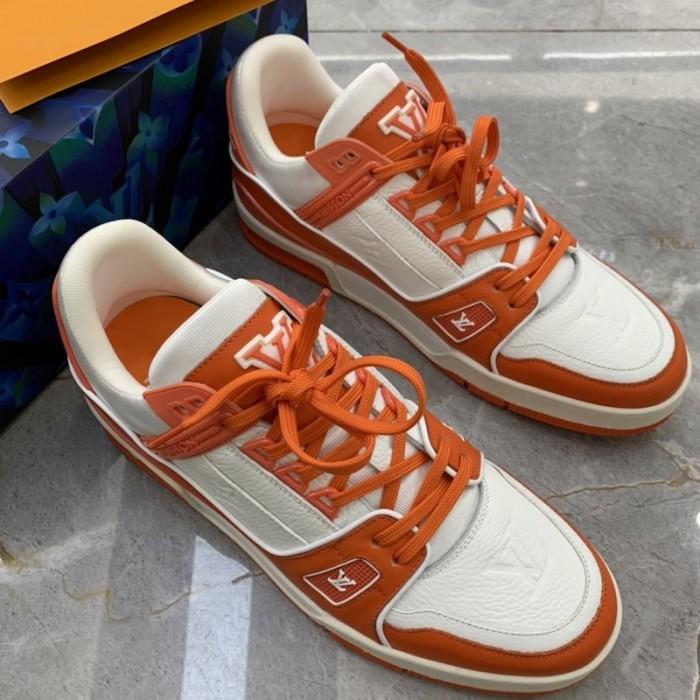 LV Trainer Sneaker Orange 1A811Q