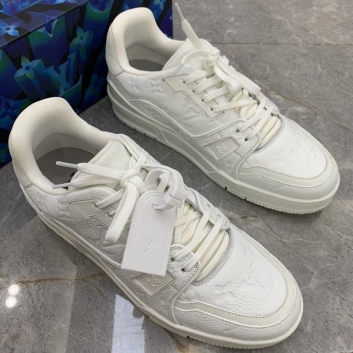 LV Trainer Sneaker White 1A8100
