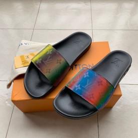 Replica lv monogram sandals