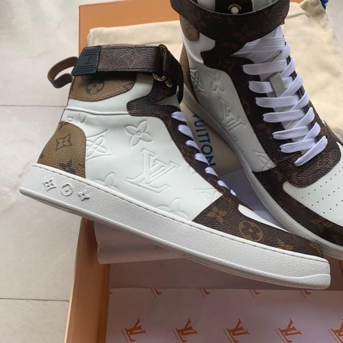 LV High Top Rivoli Sneakers Boot