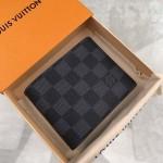 Replica LV damier graphite multiple wallet