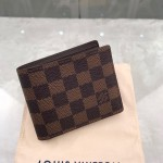 Replica LV damier ebene multiple wallet