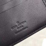 Replica LV monogram leather multiple wallet