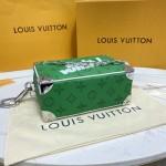 Replica Lv Green Mini Soft Trunk