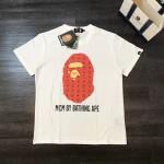 Replica mcm x bape t shirt