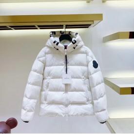 Mon Dubois Down quilted matte nylon jacket White