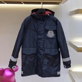 Mon x Off White Coat Jacket Black