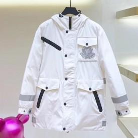 Mon x Off White Coat Jacket White