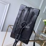 Replica LV Soft Trunk Bags Black Monogram