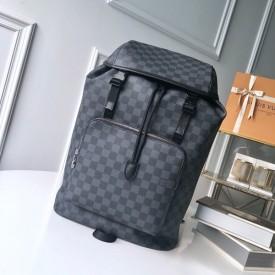 Replica LV zack backpack damier graphite