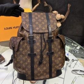 Replica LV monogram christopher backpack