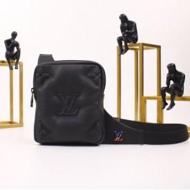 Replica LV Lambskin Leather Sling Bag