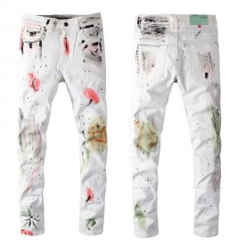 Replica Off White Paint Jeans