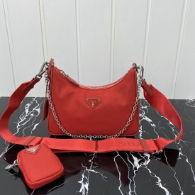 Replica Prada nylon shoulder bag