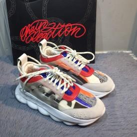 Replica Versace Chain Sneakers White