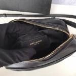 Replica YSL Lou Belt Bag black