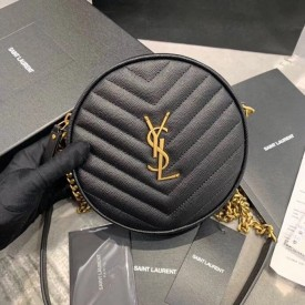 Replica YSL Round Jade Camera Bag